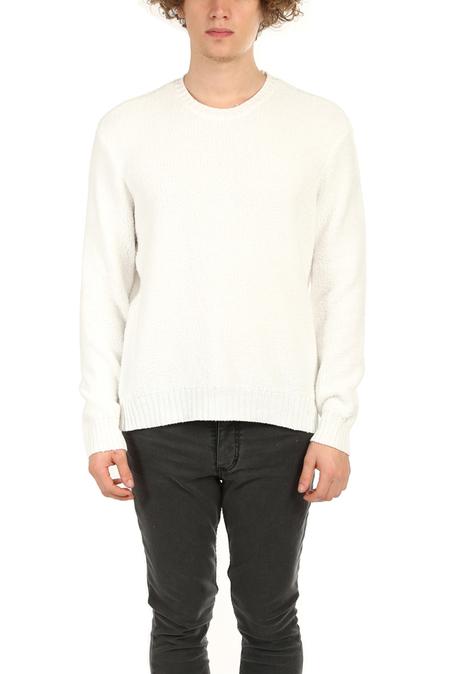 ATM Chenille Crewneck Sweater - Chalk