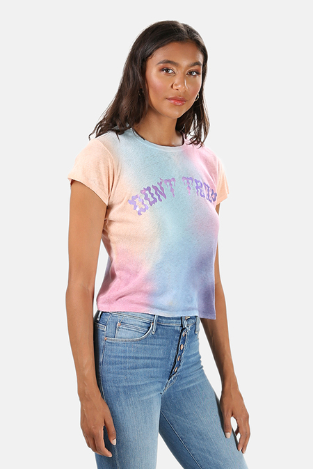 Mother Denim The Lil Goodie T-Shirt - Don't Trip Tie Dye