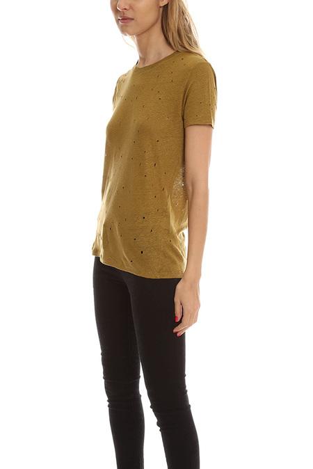 IRO Clay T-Shirt - Olive Night