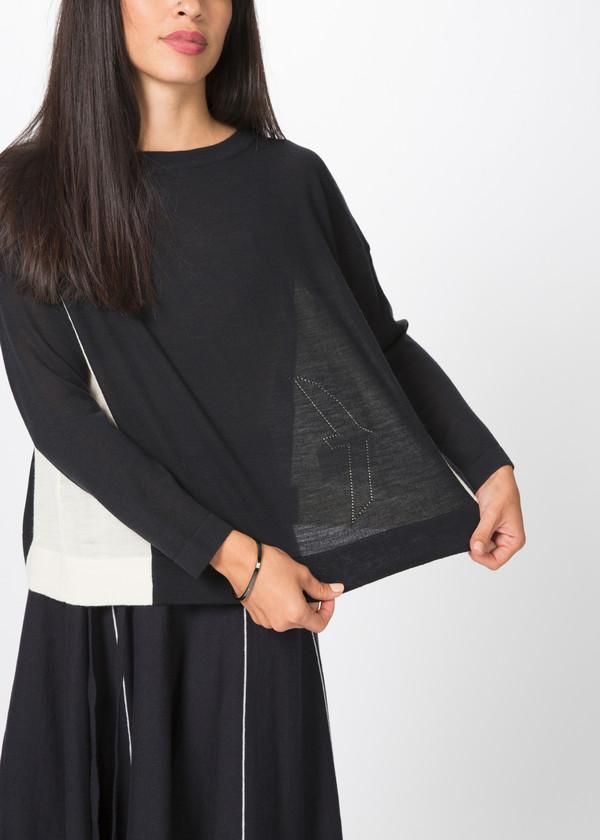 Yoshi Kondo Uniform Knit Pullover