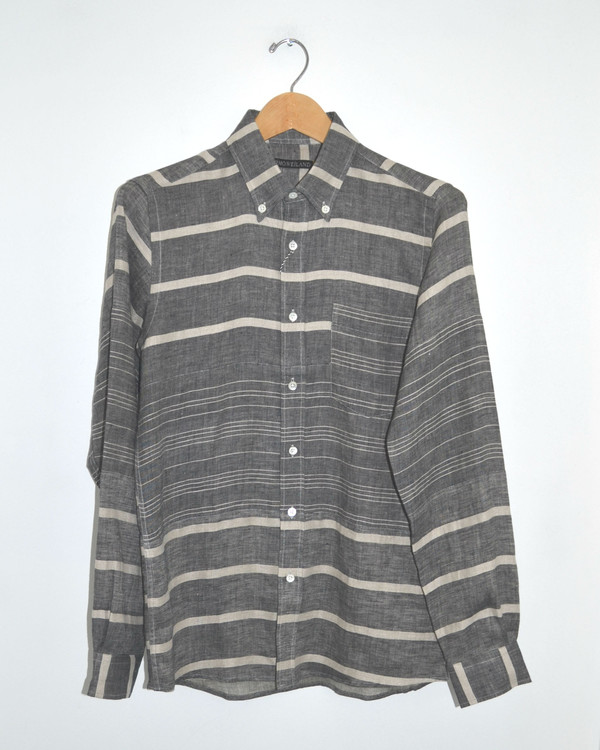 Men's TIMO WEILAND - Jay Stripe Button-down