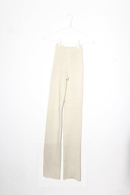 giu giu NONNA Pants X-Long - Ivory