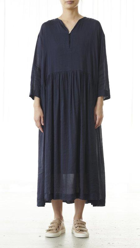 Pas de Calais Vegetable Dye Dress - Navy
