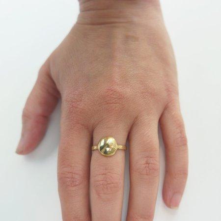 Mesa Dome Ring - Yellow Bronze