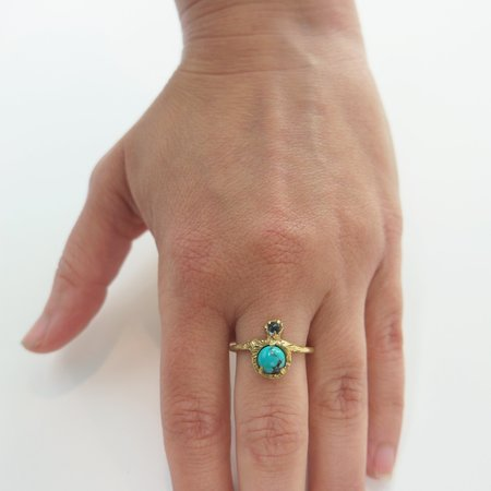 Monica Squitieri Mineral King Ring - Brass
