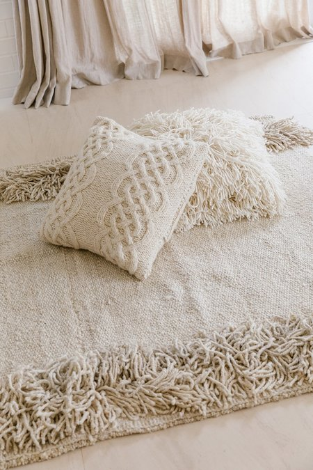 Pampa Cerro Cushion #03 - natural white