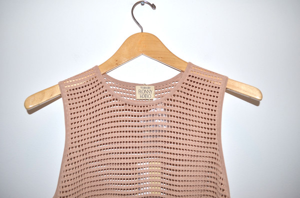 Torn - Micha Top Open Stitch