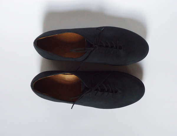 HOPP Black Nubuck Essential Oxford