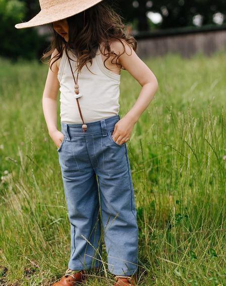 Kids Kiboro Play Hard Pants - Denim