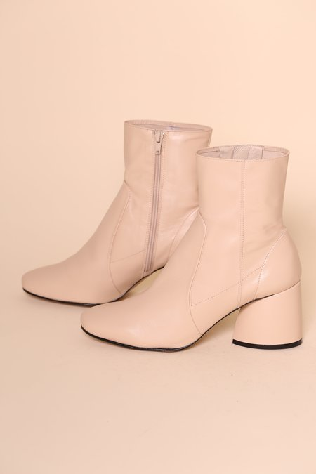 """""""INTENTIONALLY __________."""" LUCK Leather Boot - Clouds"""