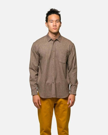 House of St. Clair 1905 Shirt Tweed - Brown