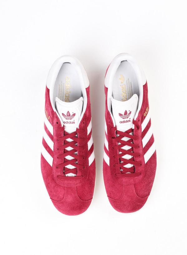 Men's Adidas Gazelle Burgundy
