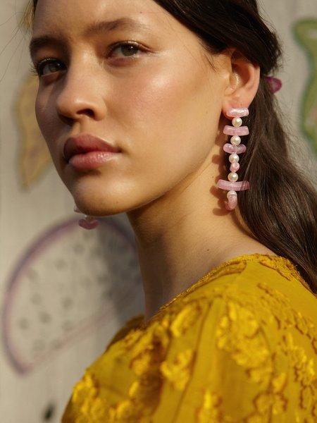 Valet Studio Clotilde Earrings - Lilac