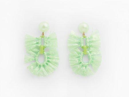 Valet Studio Faith Earrings - Lime