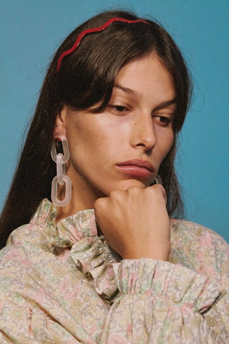 Valet Studio Marcia Earrings - Clear