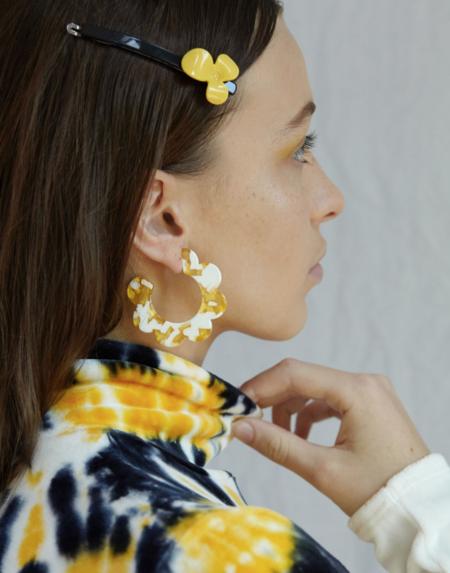 Valet Studio Maritza Earrings - Yellow