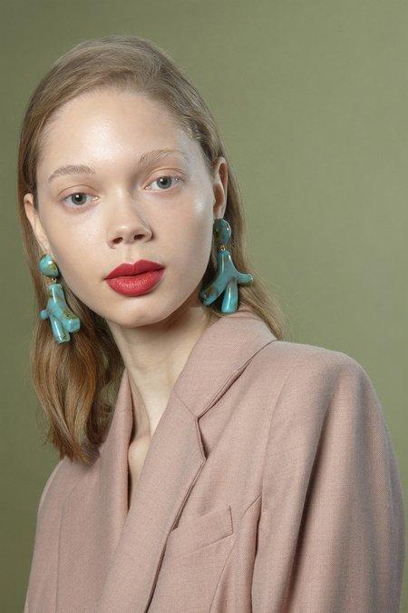 Valet Studio Noemie Earrings - Ivory