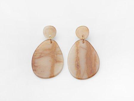 Valet Studio Pandora Earrings - Marble