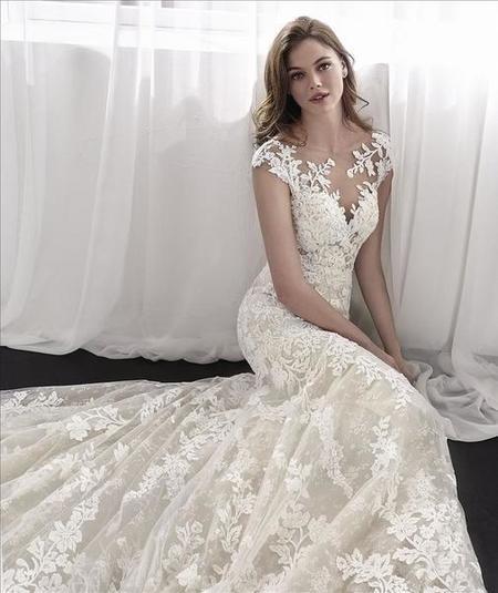 St. Patrick Leticia Dress - Off White
