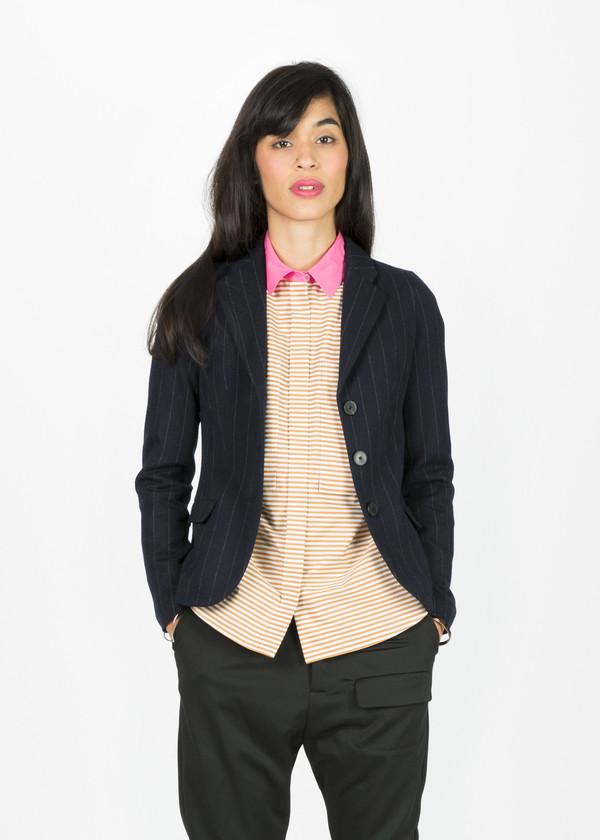 Odeeh Pinstripe Wool Blazer