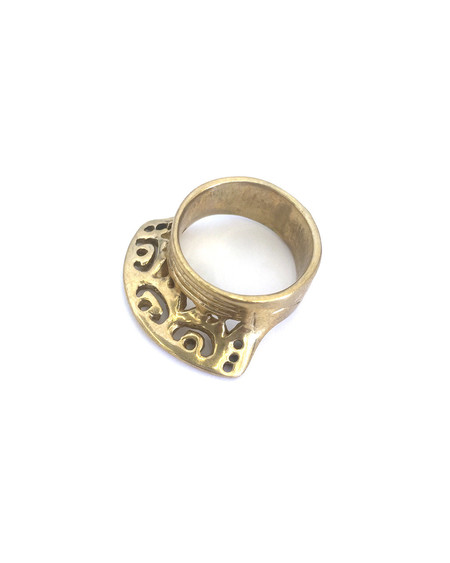 Ariana Boussard-Reifel Ziara Ring in Brass