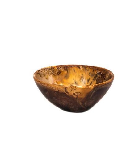 Dinosaur Designs Small Ball Bowl in Tortoise Shell Swirl