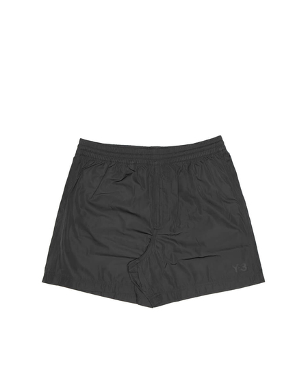 Y-3 Nylon Swim Shorts - Black