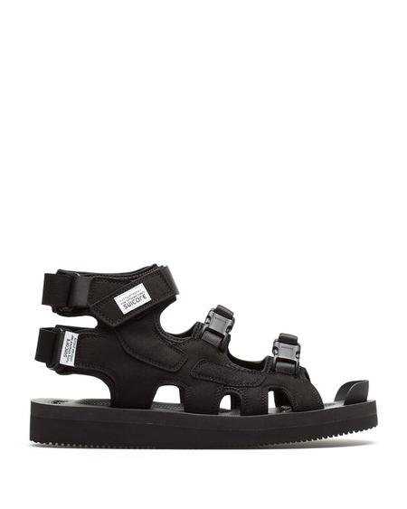 Unisex Suicoke Boak-V High Sandals - Black