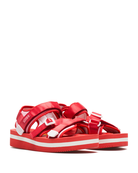 Suicoke Kisee-Vpo High Sandals - Red