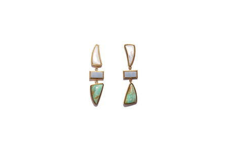 Lizzie Fortunato Santa Fe Earrings