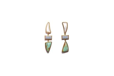 Lizzie Fortunato Santa Fe Earrings