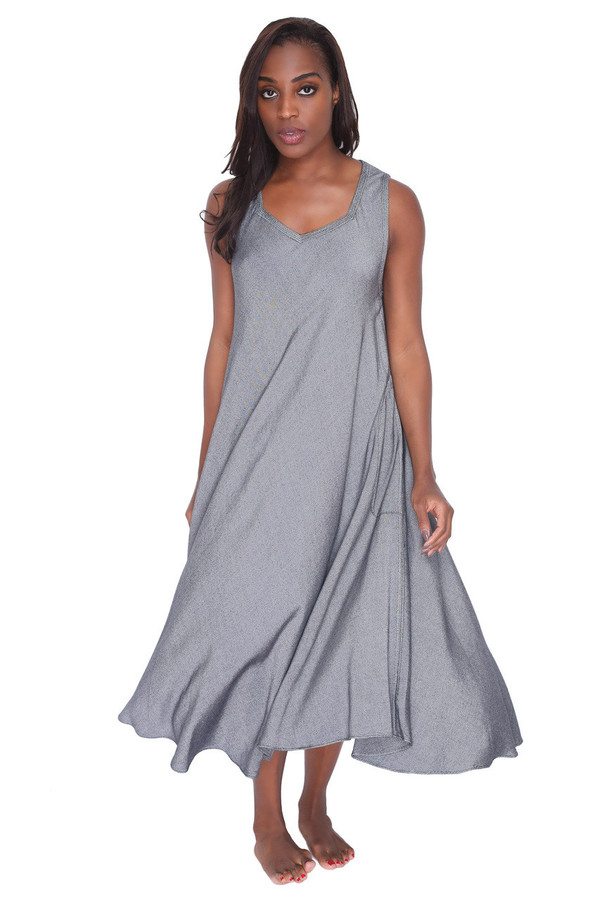 Tienda Ho Zohra Dress in Silver