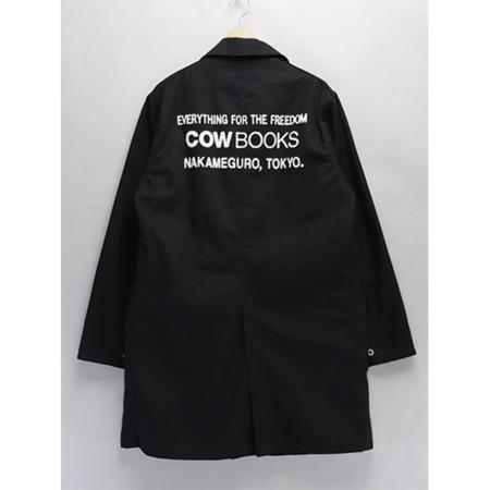 Mountain Research COW BOOKS Shop Coat - black