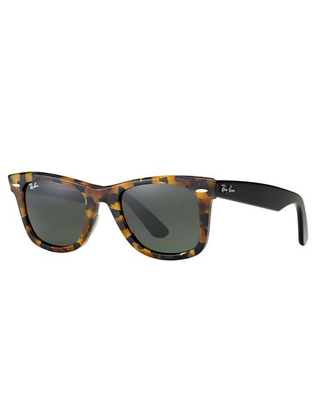 Ray-Ban Wayfarer Sunglasses Spotted Black Havana