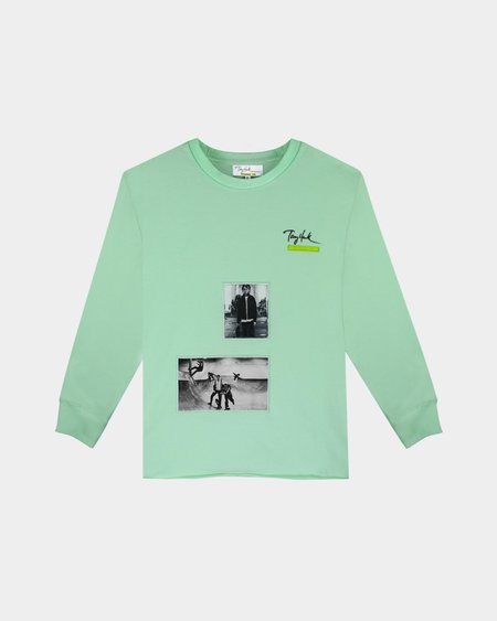 Tony Hawk Signature Line Long Sleeve T Shirt - Mint