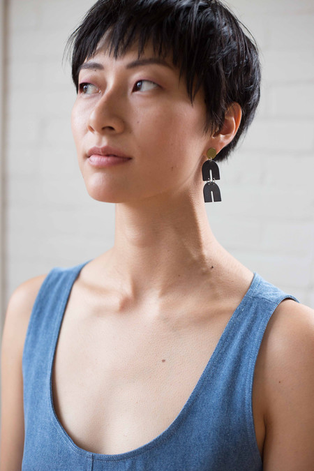 Natalie Joy Cosmic Ray earrings