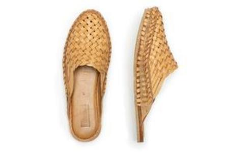 Mohinders Woven Leather City Slippers Women's