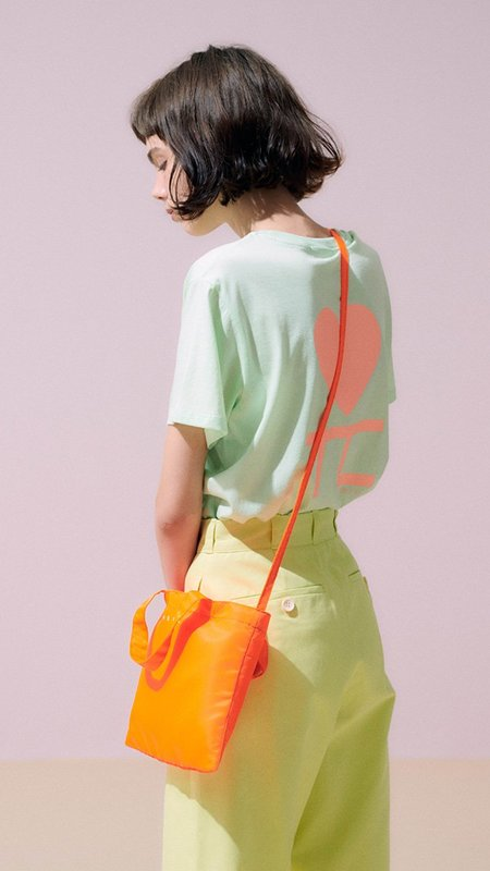 Neul Crossbody Bag - Neon Orange