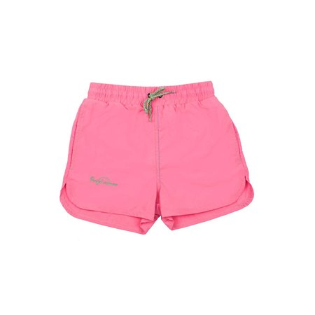 Kids Pacific Rainbow Jim Swim Short - Pink Fluo