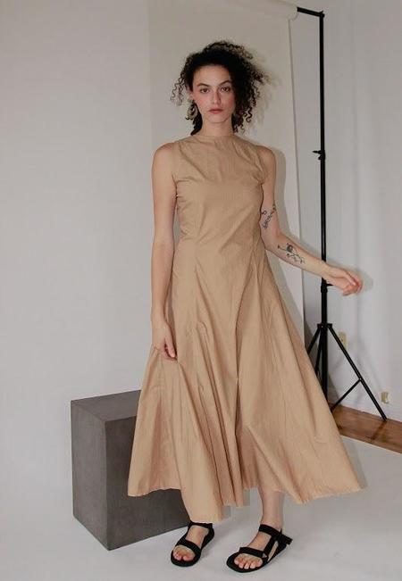 Ajaie Alaie It Takes Two To Tango Dress - Latte