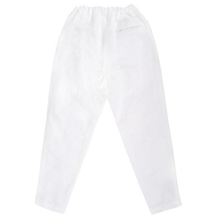 Makié Makie Miranda Cotton/Linen Pants - White