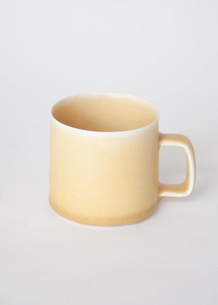 Gravel & Gold Porcelain Mug - Flax