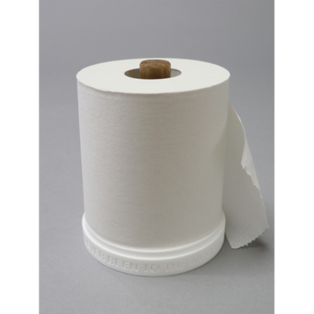 Mountain Research Little Summer Camp Roll Paper Holder - White