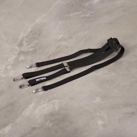Wacko Maria Suspenders - Black