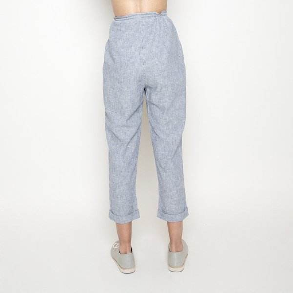 7115 by Szeki Striped Relaxed Pants