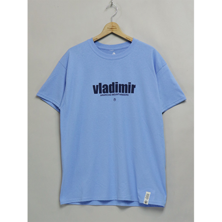 Mountain Research VLADIMIR Short Sleeve T-Shirt - Sax