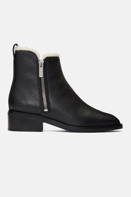 3.1 Phillip Lim Alexa Shearling Boots Shoes - Black