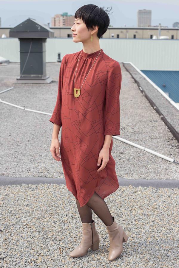 Eve Gravel Virgo Dress