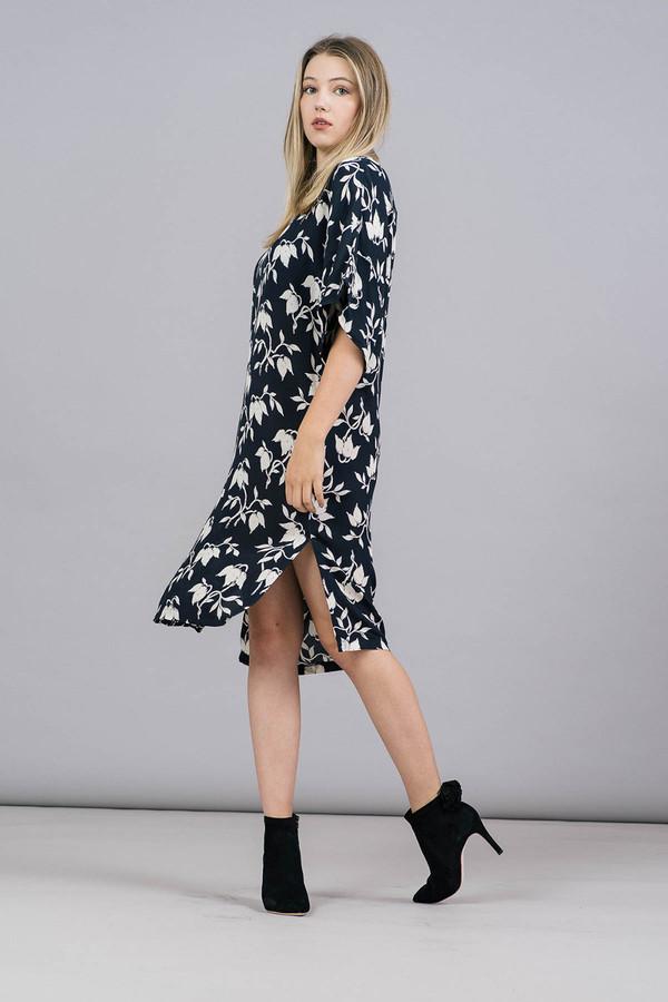 Ganni Maxwell Crepe Dress