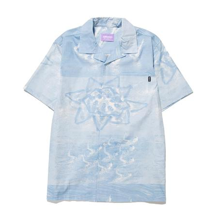 Alltimers Sync Up Button Up - Blue